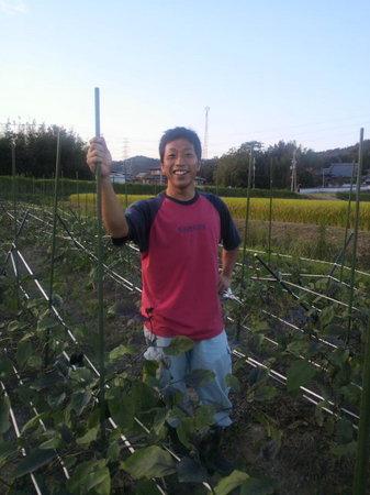 加古川市の、夢のある農園