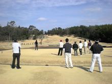 久しぶりに、ゴルフに行ってきました。