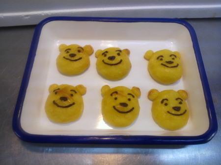 アルバイトのMさん手作りのお菓子です。かわいい。